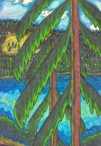 Tree&Lake