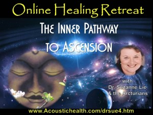 multidimensional webinar, Dr. Suzanne Lie and the Arcturians