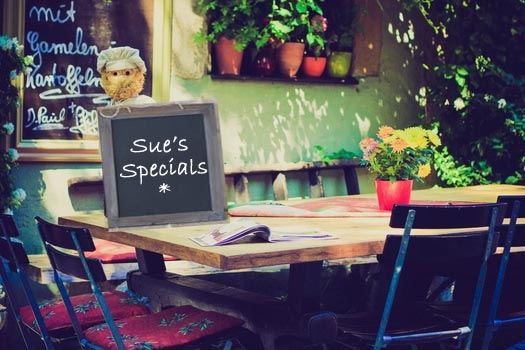 Sue's Specials