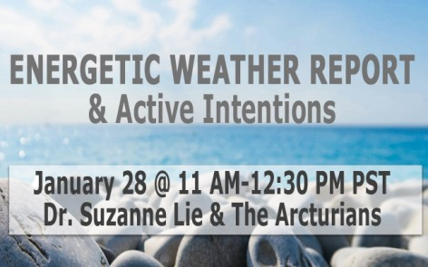 Dr. Suzanne Lie Energetic Weather Report