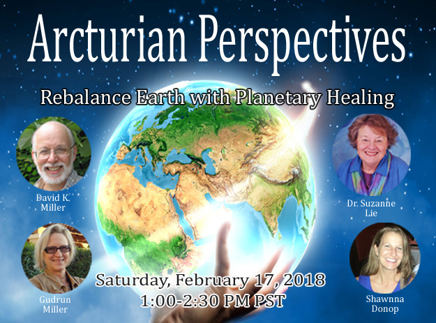 ArcturianPerspectives: Rebalance Earth with Planetary Healing